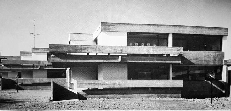 "germanpostwarmodern: "" Children's Sanatorium (1970) in Bad Rappenau, Germany, by…"