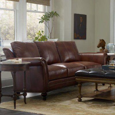 Bradington Young Richardson Sofa Finish: Plantation, Upholstery: 912500 84