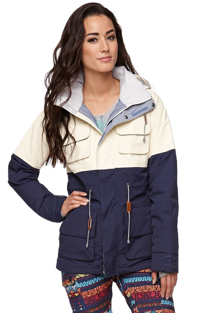 ski jacket pac sun - if this came in green i'd be all about it