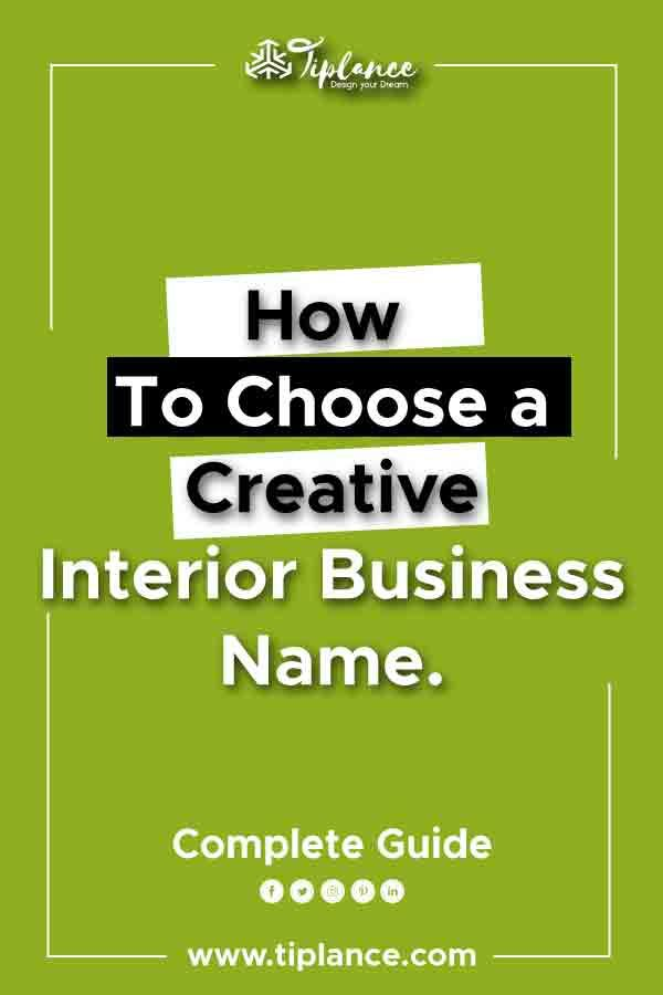 170 Catchy Interior Company Name Ideas To Make Your Business A Brand Design Company Names Interior Design Business Business Design
