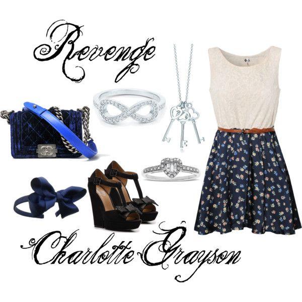 Charlotte Grayson, created by dingoesatemybaby on Polyvore
