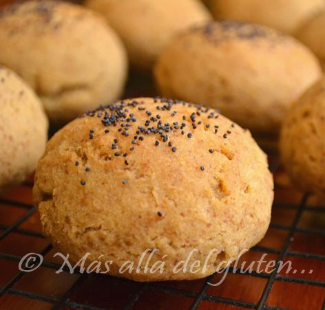 Más allá del gluten...: Pan de Arroz y Maíz - Sin Gluten, Sin Levadura, Sin Huevos (Receta GFCFSF, Vegana)