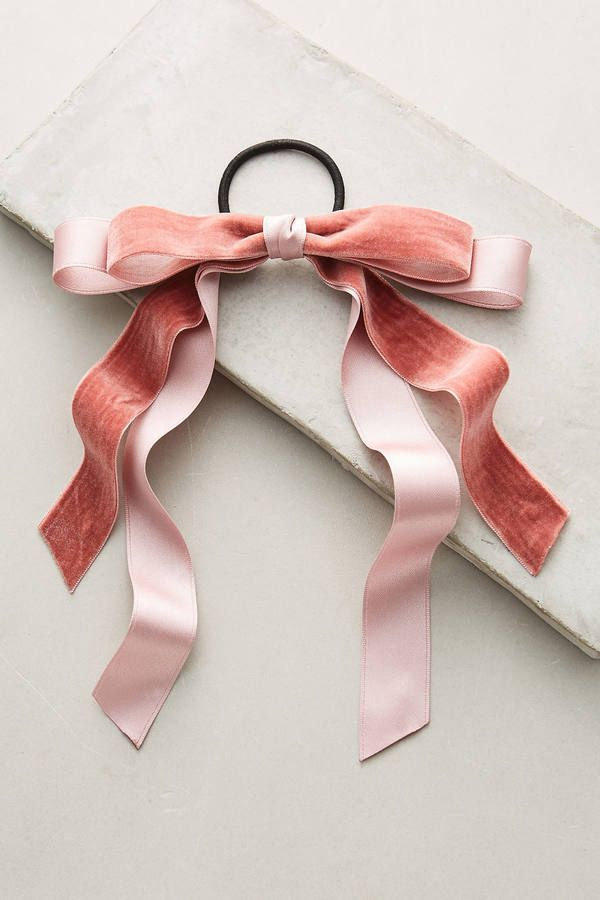 Anthropologie Bow-Tied Pony Holder