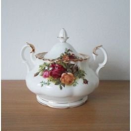 Grote suikerpot Royal Albert Old Country Roses