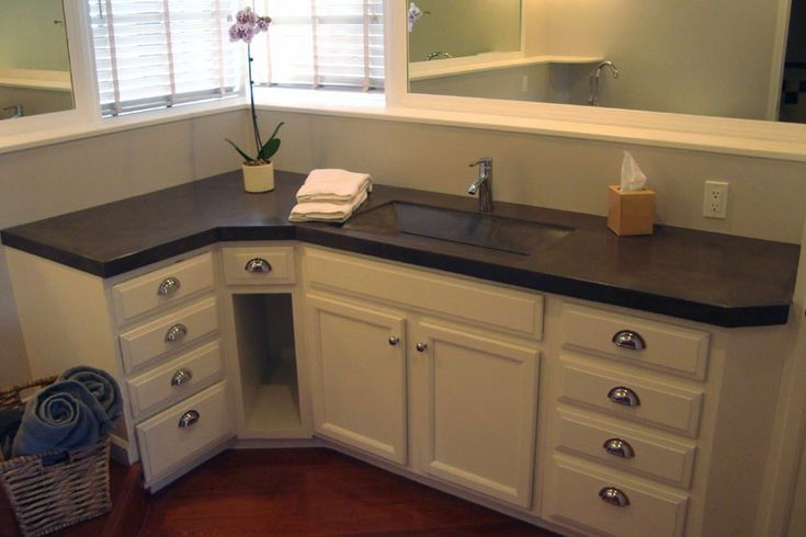 Best 25 l shaped bathroom ideas on pinterest bathrooms showers and custom shower for L shaped double sink bathroom vanity