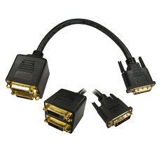 Cabledepot DVI Splitter Cable DVI-D DVI Splitter Cable DVI-D http://www.MightGet.com/may-2017-1/cabledepot-dvi-splitter-cable-dvi-d.asp
