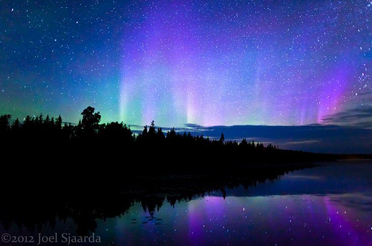 Northern Lights - Bruce Peninsula, Ontario, Canada