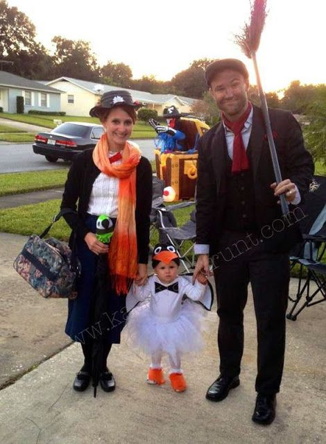 loyal loving learning practically perfect family mary poppins costume family halloween costumesbaby - Infant Penguin Halloween Costume