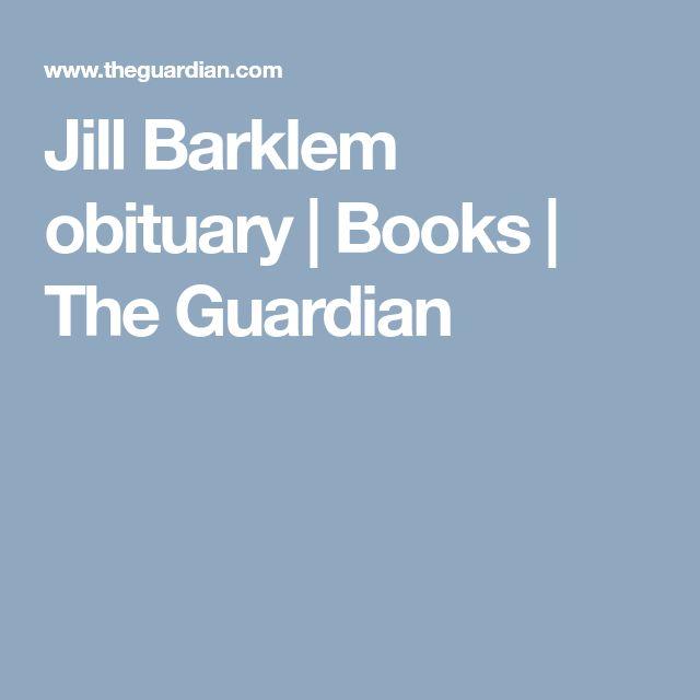 Jill Barklem obituary   Books   The Guardian