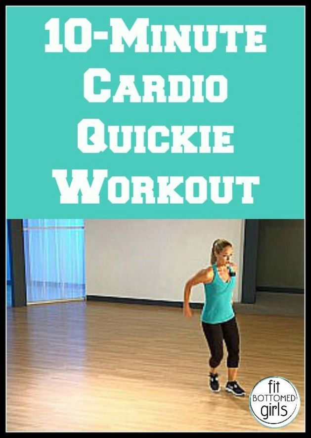 Start the year off fit! Get a cardio quickie workout in with Jessica Smith!