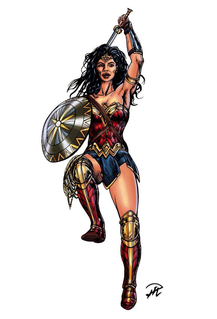 Wonder Woman MIrakelkvinnan - see original at https://indomitus.blog/
