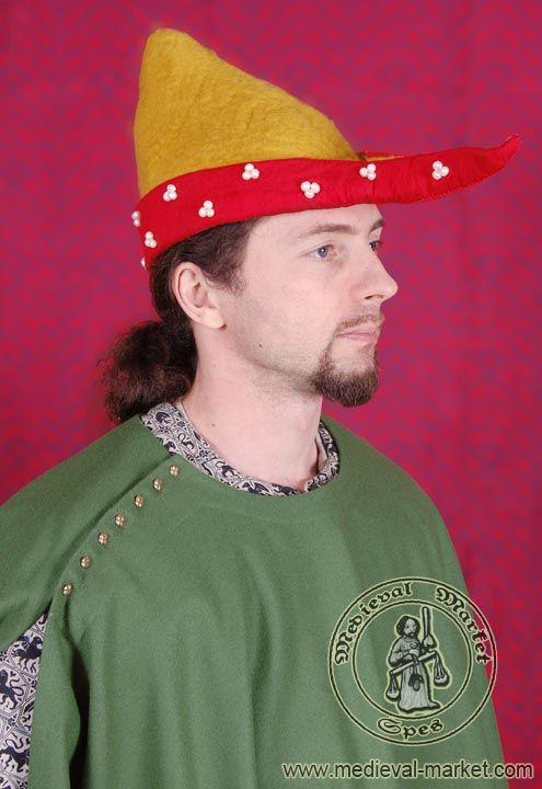 Hand-felted hat, SPES Medieval Market