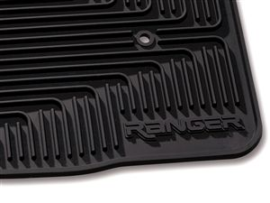 2008-2010 Ford Ranger Floor Mats, All Weather Vinyl  at Partscheap.com