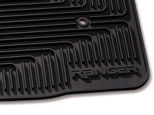 2008-2010 Ford Ranger Floor Mats, All Weather Vinyl  at Partscheap.com