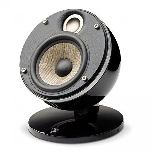 Focal Dome Flax 2-Way Compact Sealed Satellite Speaker (Black)