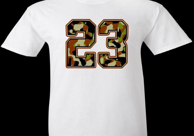 "EXCLUSIVE CAMO TEE SHIRT TO MATCH ANY AIR JORDAN SNEAKERS -""23 CAMO-2"" #COPEMCUSTOMS #GraphicTee"