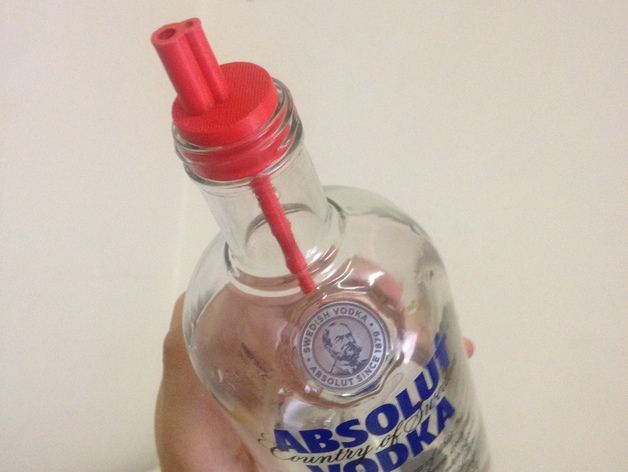 Liquor Pourer by mrvv - Thingiverse