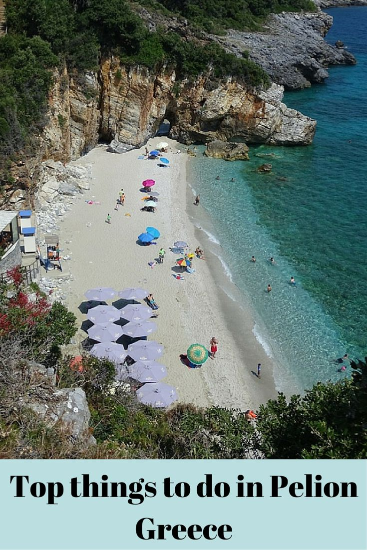 What to do in Pelion Greece, including villages to visit, beaches to swim, where to eat and where to stay!