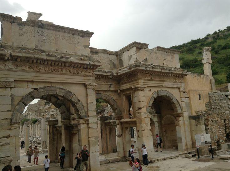 #history #Ephesus so close to Mary's House near Kusadasi, Turkey