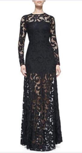 So Gorgeous! Eleagnt Black Lace Limited Edition Maxi Party Dress #Limited #Edition #Elegant #Black #Lace #Maxi #Dress #Party_Dress #Holiday #Fashion