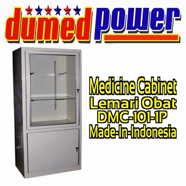 """LEMARI OBAT 1 PINTU DMC-101-1P """"DUMEDPOWER"""""""