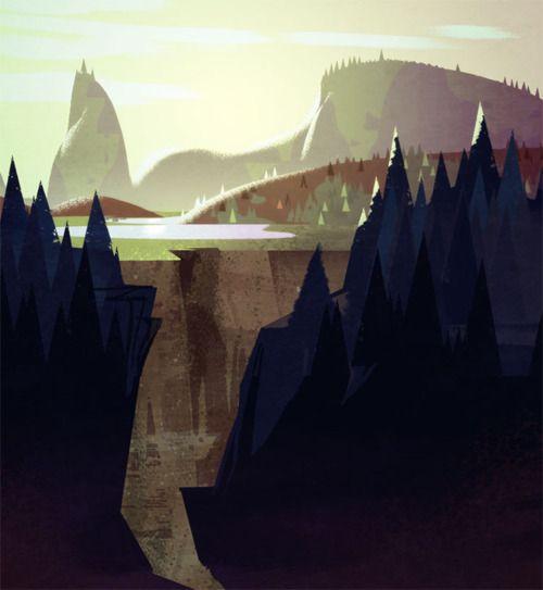 Illustrator: Mike Yamada - Visual Development Artist at Dreamworks Animation