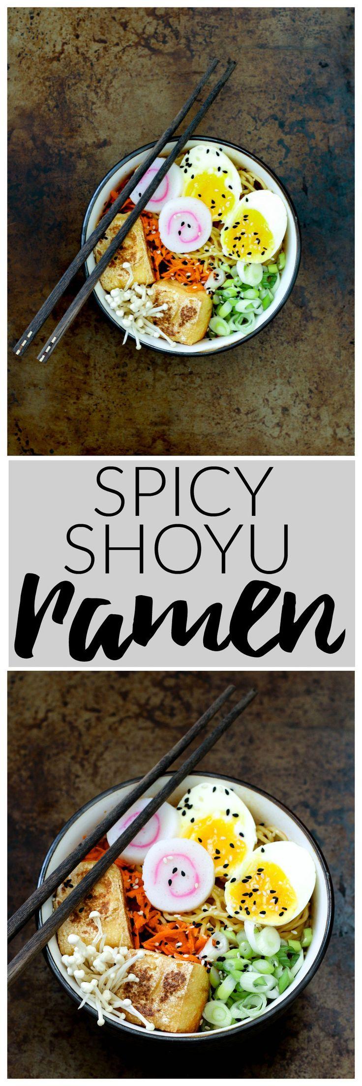 Spicy Shoyu Ramen | Killing Thyme