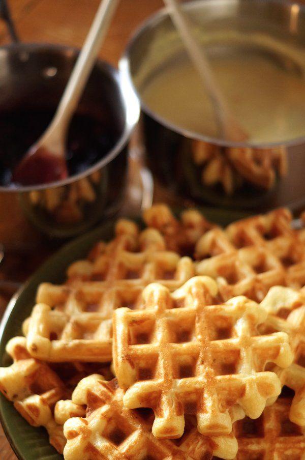 The healthiest, tastiest, crispiest waffles ever!