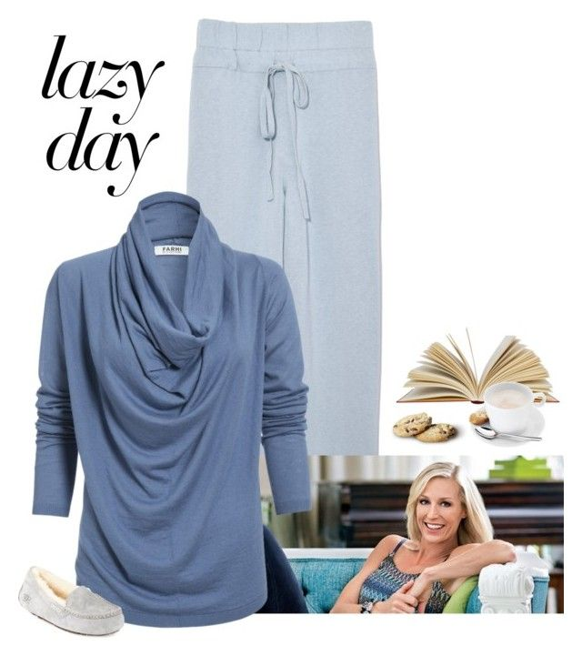 """""""Lazy Day"""" by patricia-dimmick ❤ liked on Polyvore featuring Candice Olson, Nicole Farhi, UGG, WMF and LazyDay"""