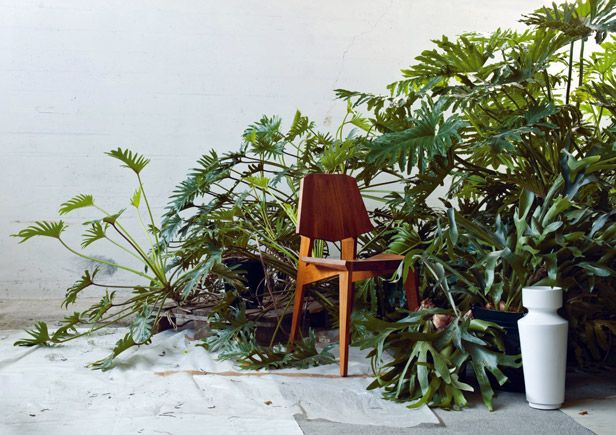 Stuhl: INCH, Vase: Linck Keramik (Foto © Christian Knörr)