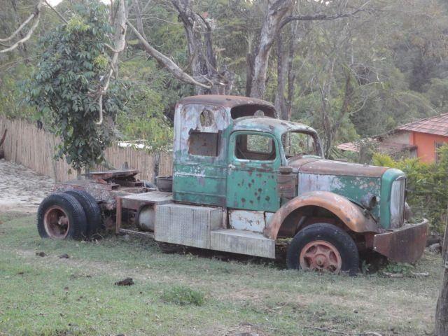 Abandoned truck (USA)