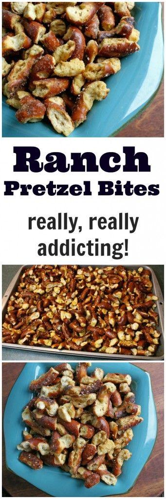 Baked Ranch Sourdough Pretzel Bites- A Turtle's Life for Me