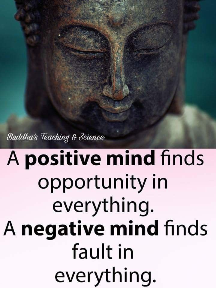 Yes be positive n think positive