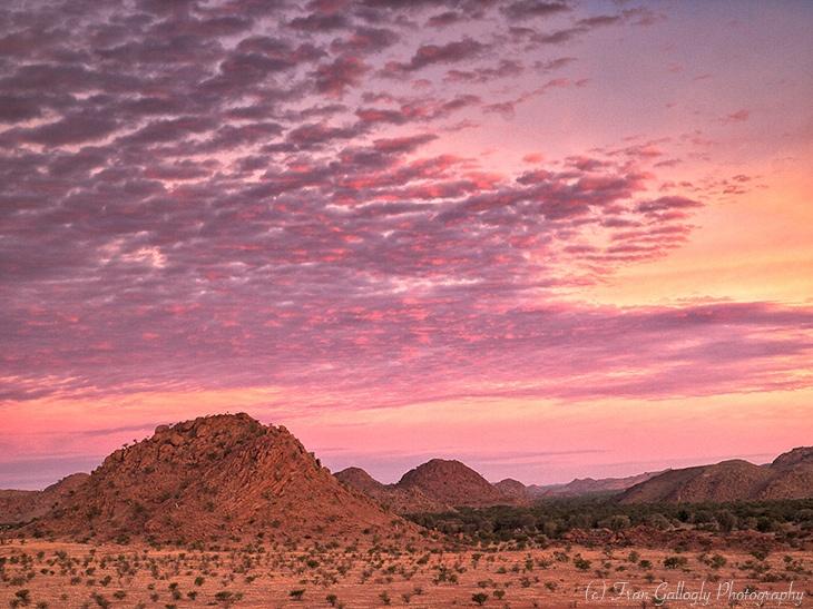Twilight in Damaraland