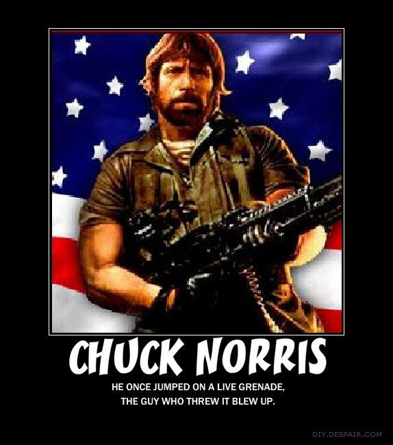 Chuck Fuckin Norris
