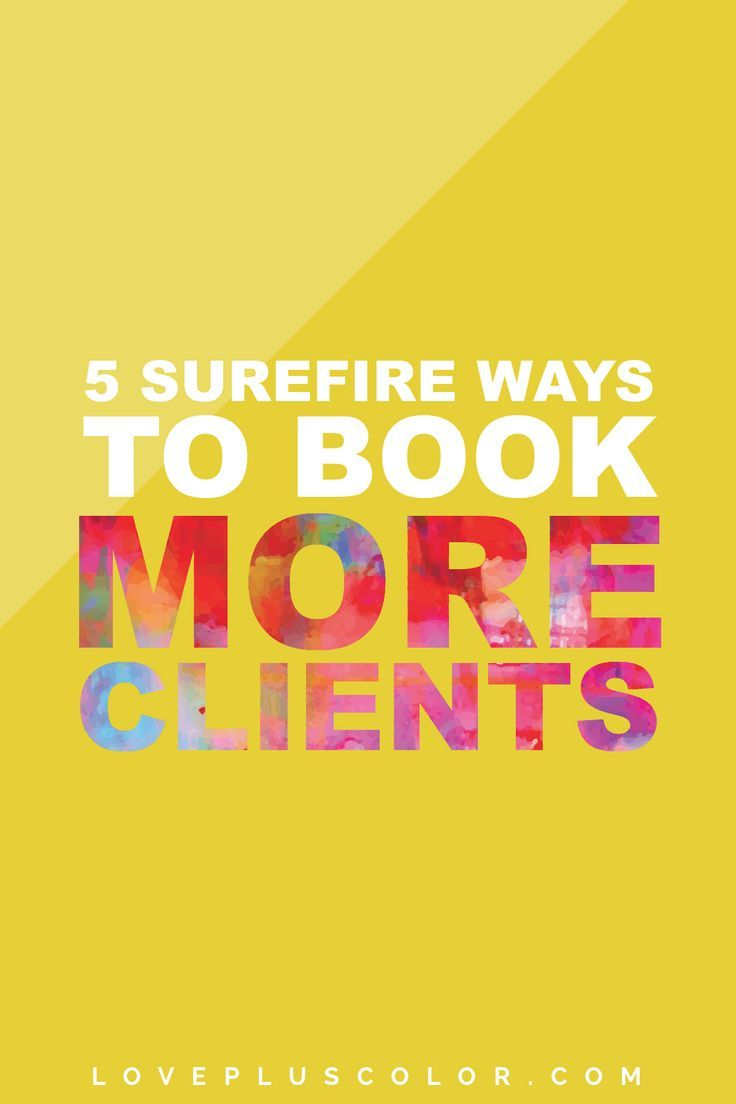 Looking to know exactly how to use your time wisely and book more clients in…