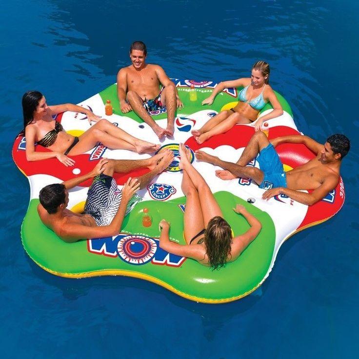 Tube A Rama 6P tube inflatable towable lounge water-ski WOW #worldofwatersports #tubefloats