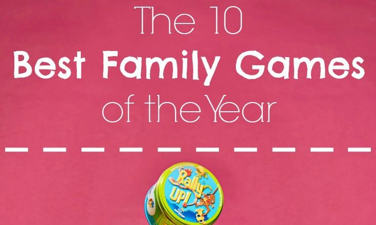 10 Best Family Board games of 2016 long