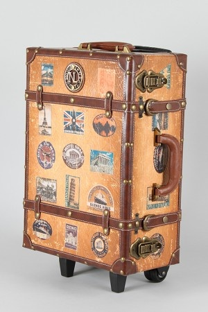 Not sure it's practical for actual travel but ....I could probably just store my Harry Potter books in it!