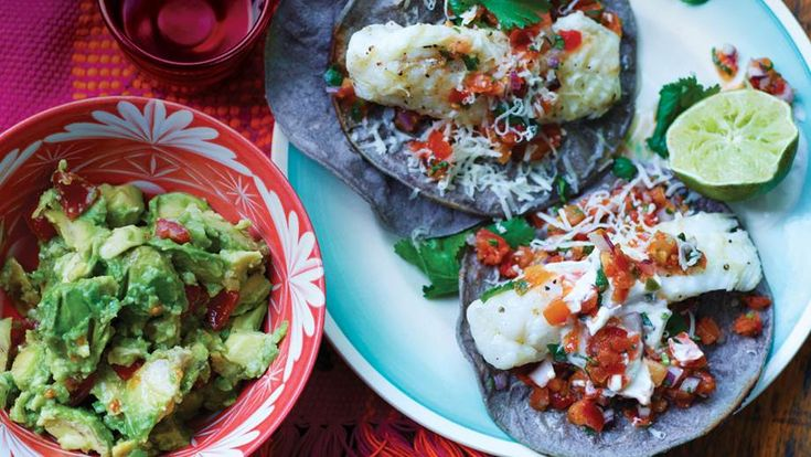 Homemade fish tacos. Image supplied by Home Cook/Guardian Faber