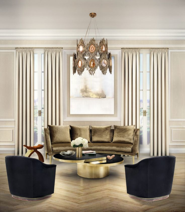 DESIGN BUILD IDEAS To This Stunning Manhattan Apartment Project Was Added A Touch Of Seduction With Sultry Revamp Which Known Signature By KOKET