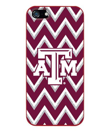 Loving this Texas A&M Aggies Zigzag Case for iPhone 5/5s on #zulily! #zulilyfinds
