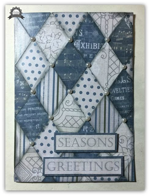 Couture Creations: Quilted Greetings by Tracey Rohweder