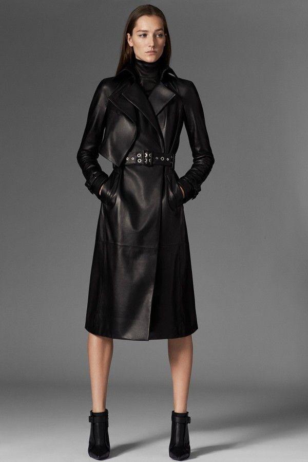 Пальто в стиле Матрицы - тенденции моды осень/зима 2015/2016