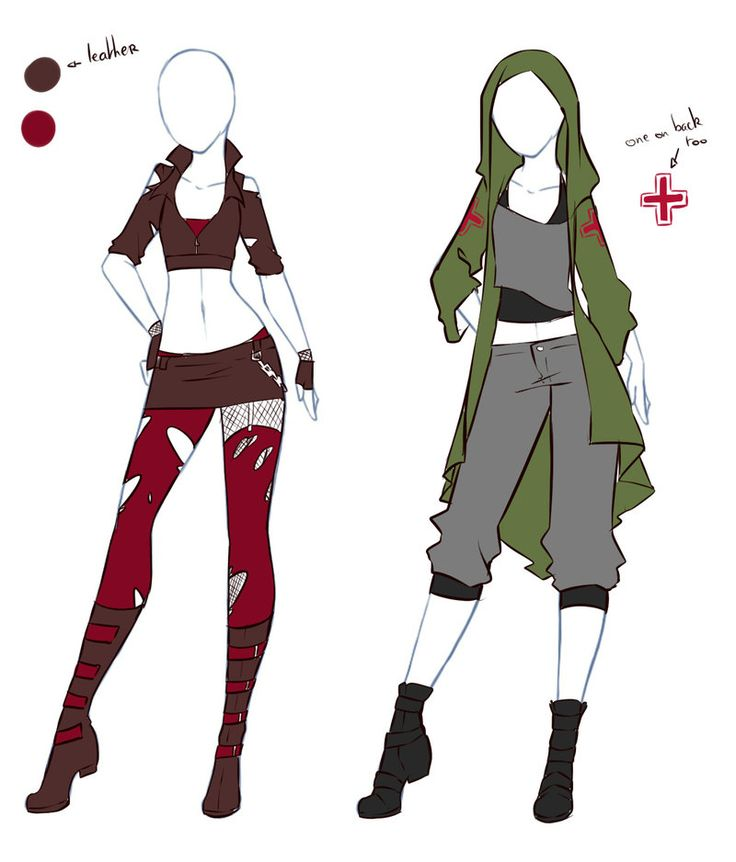 january commissions 12 by rika donodeviantartcom on deviantart - Clothing Design Ideas