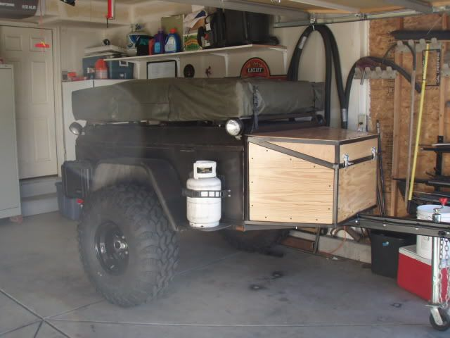 Homemade Off-Road Trailers | could be turned into a solid homemade off road trailer