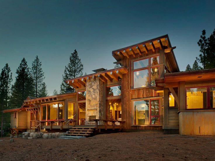 martis camp 145 contemporary exterior other metro walton architecture and engineering - Contemporary Rustic Homes