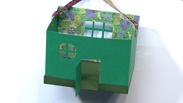 Matleenan talokassi I askartelu | kädentaidot | paperi | lasten | lapset | helppo | askarrellaan | kids | children | easy | crafts | Pikku Kakkonen