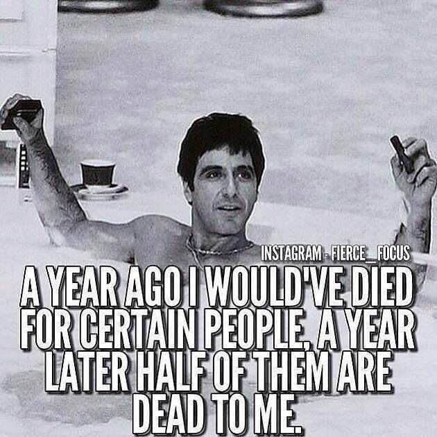 Scarface quote/saying