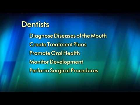 Dentists: Doctors of Oral Health A video from the American Dental Association